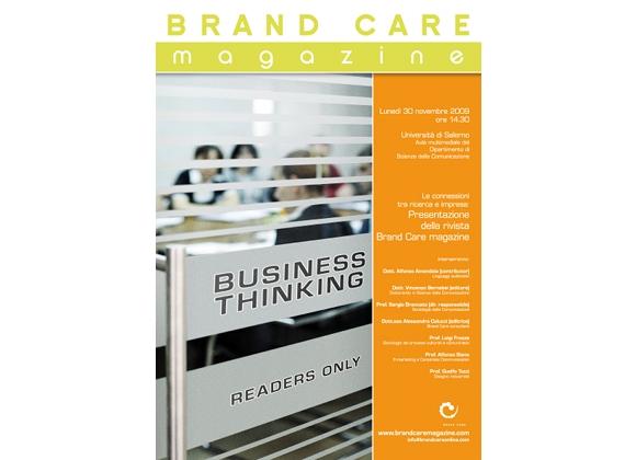 Brand Care magazine all'Università di Salerno