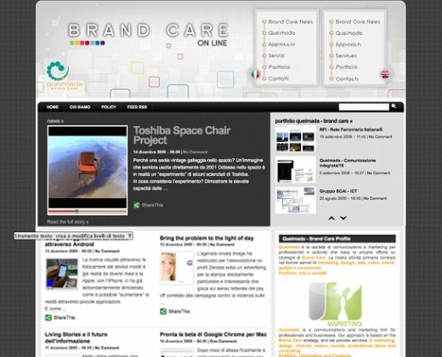 Brand Care online by Queimada