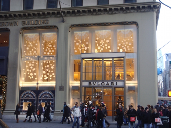 Bulgari 5th Avenue - photo by Alessandra Colucci