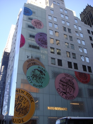 Luis Vuitton 5th Avenue - photo by Alessandra Colucci