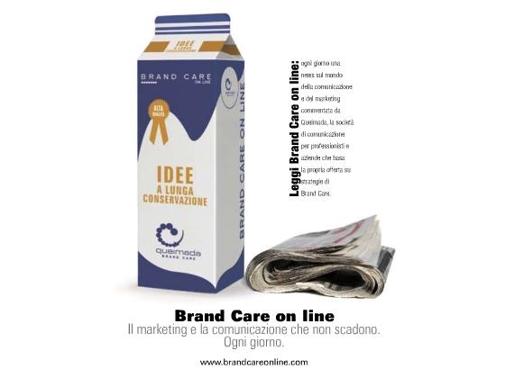 Queimada-Brand Care campagna stampa di servizio: Brand Care online