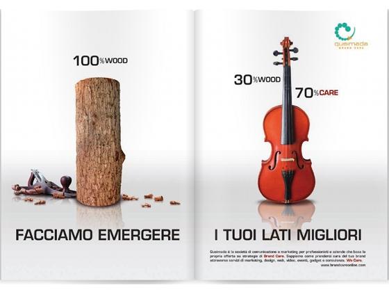Queimada-Brand Care campagna stampa corporate