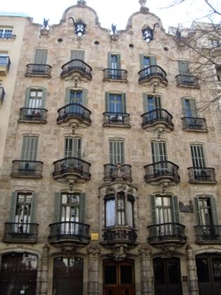 Barcellona: Casa Calvet - photo by Alessandra Colucci