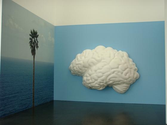 "MACBA: John Baldessari ""Brain/Cloud (two views)"" 2009 - photo by Alessandra Colucci"