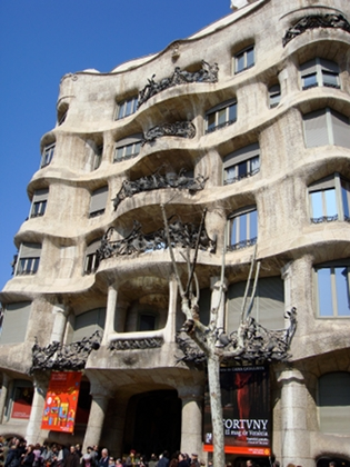 Barcellona: La Pedrera - photo by Alessandra Colucci
