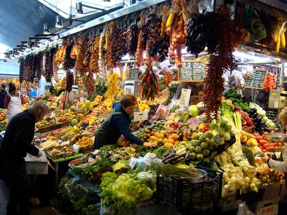 Mercat Boqueria: frutta - photo by Alessandra Colucci