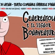 Cenerentola e il Signor Bonaventura a maggio al teatro G. D'Annunzio di Latina