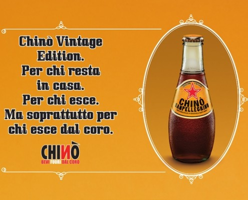 Chinò Vintage Edition - strategie di heritage marketing anche per Chinò Sanpellegrino