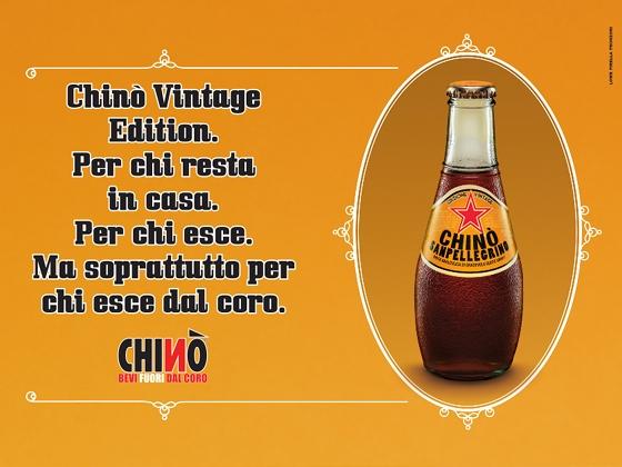 Chinò Vintage Edition - strategie di heritage marketing anche per Chinò Sanpellegrino