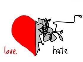 Scienze della Comunicazione - amore/odio via gapingvoid.com