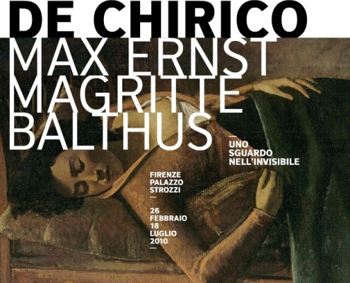De Chirico, Max Ernst, Magritte, Balthus - Palazzo Strozzi (Firenze)