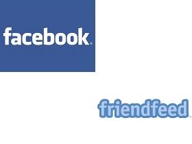 Marchio Facebook e FriendFeeed