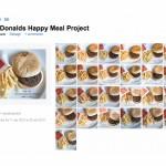 Esperimento fotografico di Sally Davis sui prodotti McDonald's