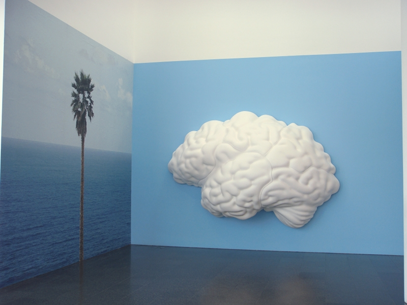 "John Baldessari ""Brain/Cloud"" - photo by Alessandra Colucci"