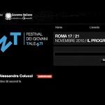 Festival TNT - Festival dei giovani talenti - profilo Alessandra Colucci