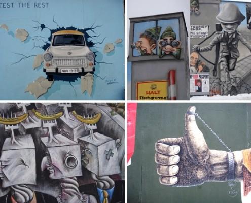 Berliner Mauer / Muro di Berlino - Alessandra Colucci ©
