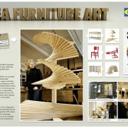 "Ikea Furniture Art - campagna promozionale ""Go other talents?"""