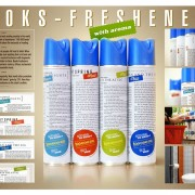 Books-Fresheners by 100 000 books - il deodorante da bagno comprensivo di best seller