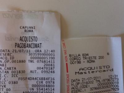 Bancomat vs MasterCard