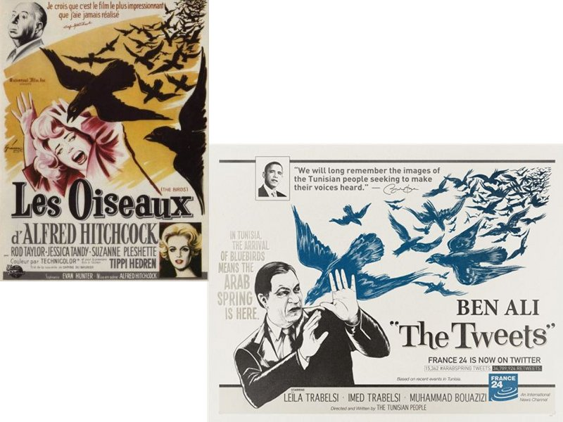 """""""The Birds"""" vs """"The Tweets"""" - Ben Ali"""