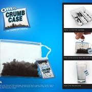 Oreo crumb case