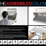 The assembled calendar - gadget by Tamiya