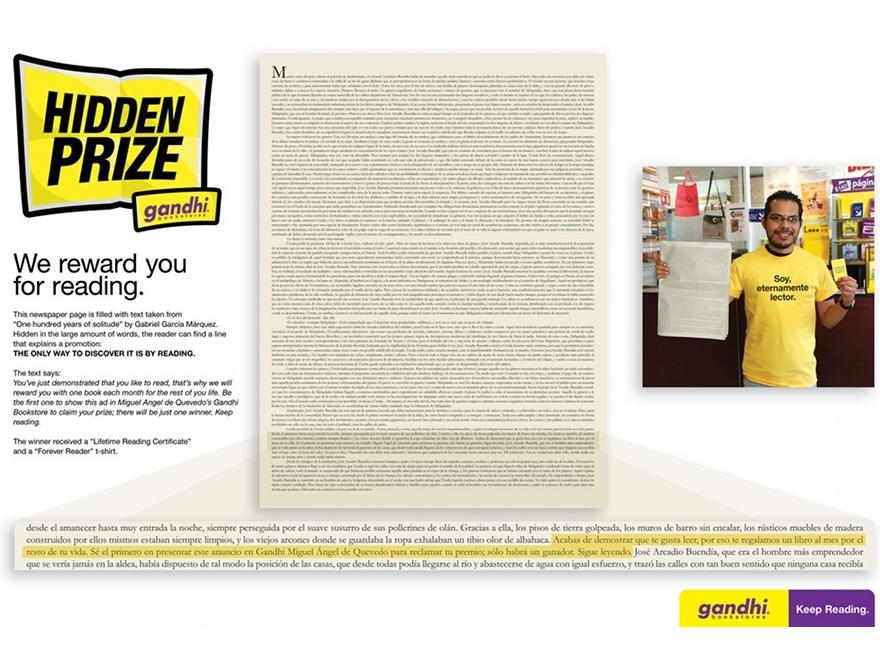 Hidden Prize Gandhi - concorso