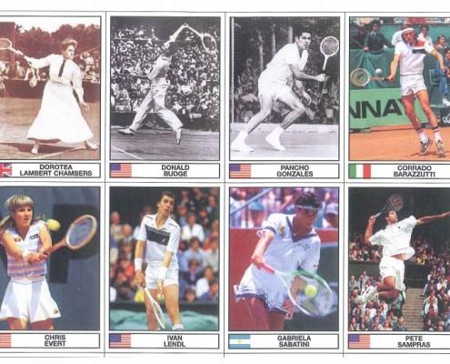 I campioni del tennis - album figurine