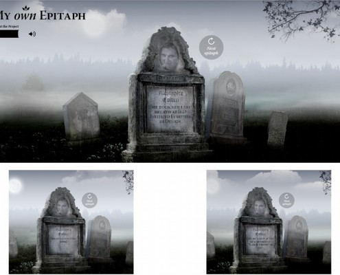 My own Epitaph - Alessandra Colucci