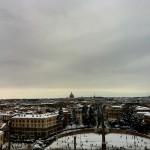 #nevearoma Piazza del Popolo dal Pincio - ©AlessandraColucci