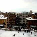 #nevearoma Piazza di Spagna da Trinità dei Monti - ©AlessandraColucci