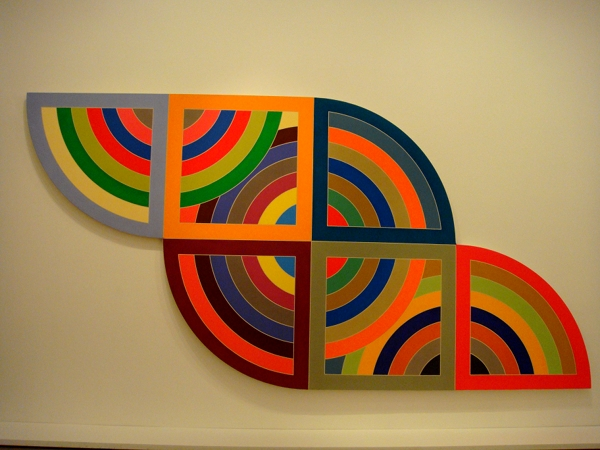 "Guggenheim - Frank Stella ""Harran II"""
