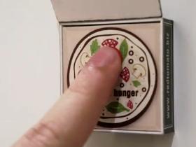 Red Tomato Pizza - VIP Fridge Magnet