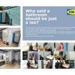 IKEA bagno - ambient marketing