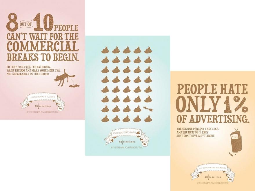 ADrenalinas Advertising Festival - campagna pubblicitaria