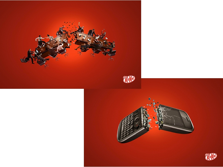 "Kit Kat ""Have a break"" - campagna pubblicitaria"