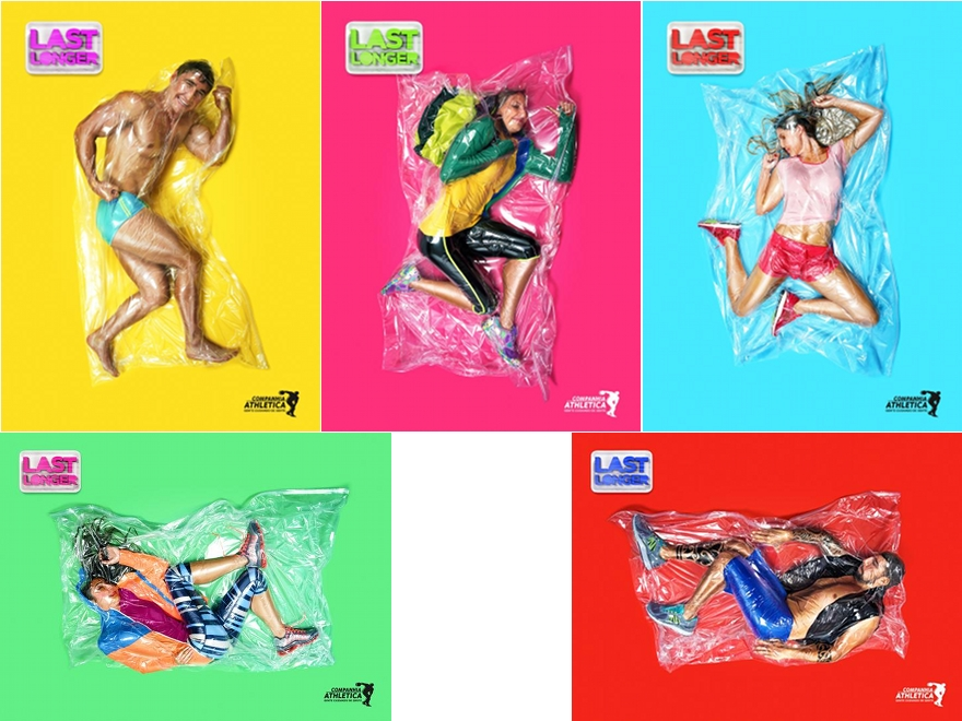 "Companhia Athletica - campagna pubblicitaria ""Last Longer"""