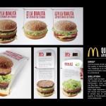 McDonald's - materiale informativo/promozionale