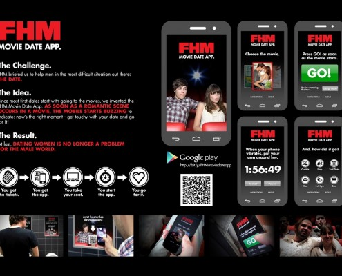 FHM Movie Date App