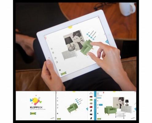 Ikea Klippbok - app per iPad