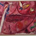 """Marc Chagall serie """"Cantico dei Cantici"""""""