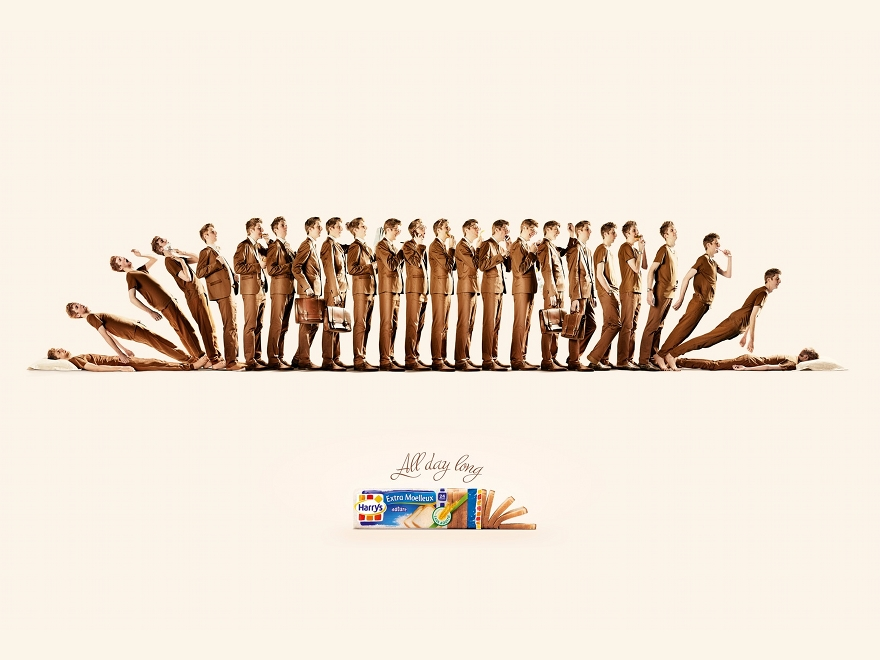 Harrys - campagna pubblicitaria