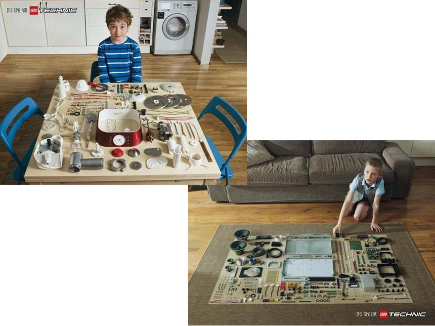 Lego Technic - campagna pubblicitaria