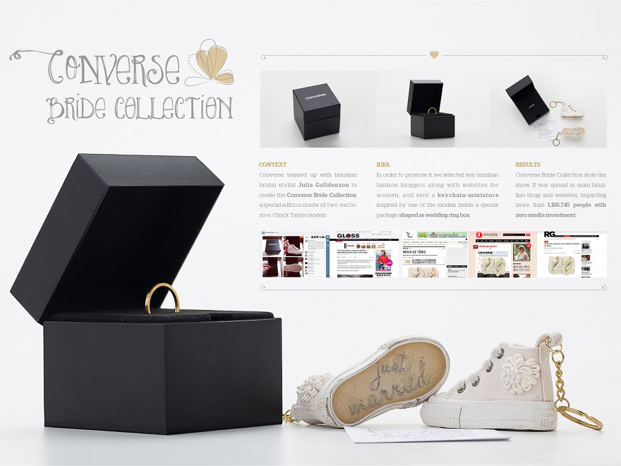 Converse Bride Collection - direct marketing