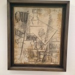 "Picasso_Nature morte ""qui"" primtemps 1912"
