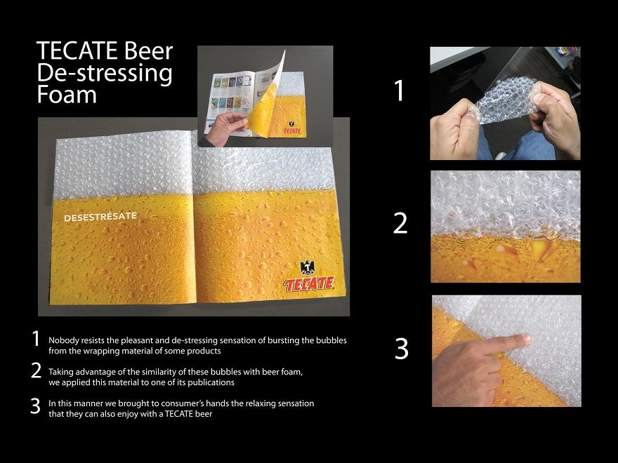 Cerveza Tecate - campana pubblicitaria