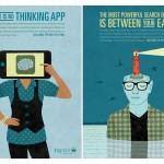 Trent University - campagna pubblicitaria 1 e 2