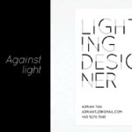 Lighting Designer - business card