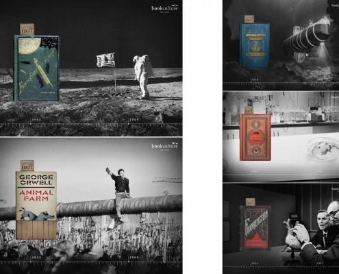 Book Culture - campagna pubblicitaria