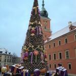 Varsavia - Castello Reale e luminarie